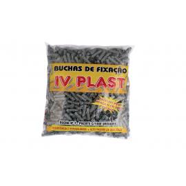 Buchas Para Fixação  IV PLAST  Pacote com 1000 unidades