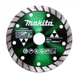 MAKITA DISCO DIAM. TURBO DE CORTE 110X20MM