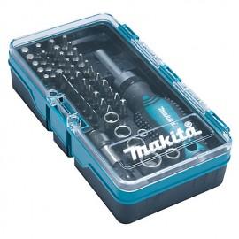 MAKITA JOGO DE 47 PCD C/CHAVE MANUAL E BITS