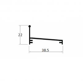 BX249 - TRILHO INFERIOR