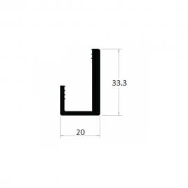 "CG075 - PERFIL ""J"""