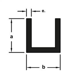 U509 A15.88xB15.88xE1.59 MM