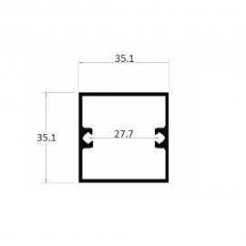 "D081 - 1.3/8""x1.3/8"""