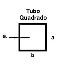 TUB4002 A15.88xB15.88xE1.10 MM