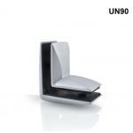 T&M - UN90 União 90° para Vidro de 10mm