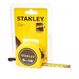 Trena Stanley 5m/16mm